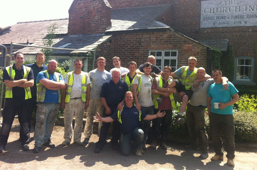 THANKS TO OUR BUILD TEAM PUB NUMBER FIVE FOR THEM AND FOR US ANOTHER DREAM MADE REAL