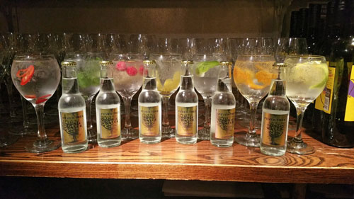 SEVEN DEADLY GINS AT THE CHURCH INN