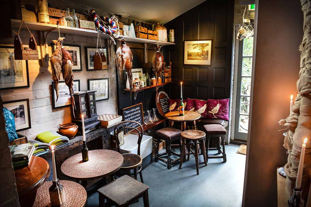 The church inn crowned a stylish success the church inn for Best private dining rooms cheshire